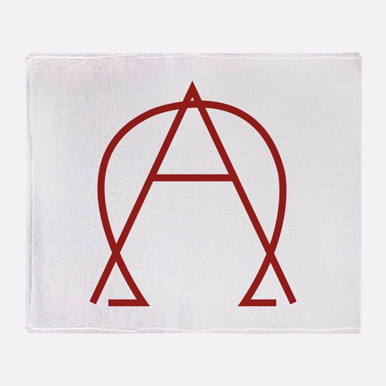 Alpha Omega - Dexter Throw Blanket