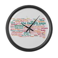 Twilight Large Wall Clock