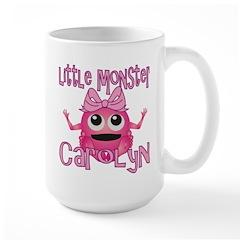 Little Monster Carolyn Large Mug