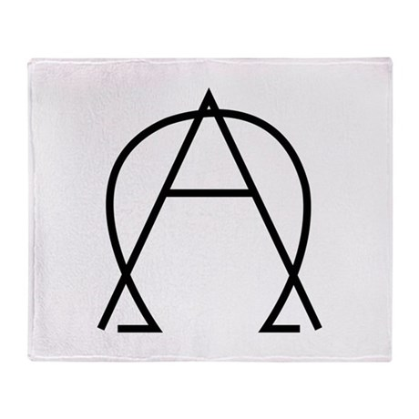 Alpha Omega - Dexter Throw Blanket
