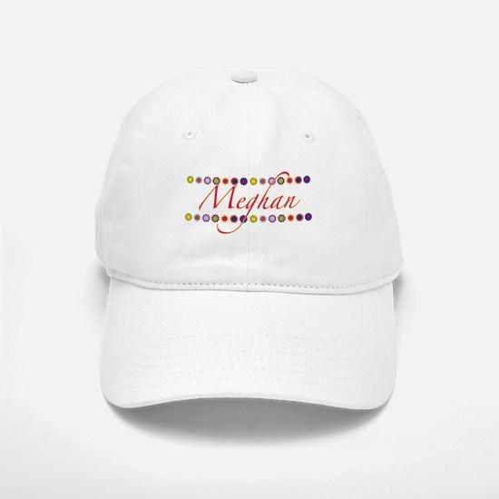 Meghan with Flowers Baseball Baseball Cap