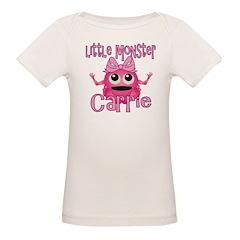 Little Monster Carrie Organic Baby T-Shirt