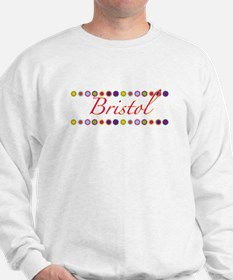 Bristol with Flowers Sweatshirt