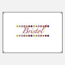 Bristol with Flowers Banner