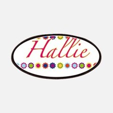 Hallie with Flowers Patches