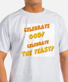 Celebrate God Ash Grey T-Shirt