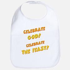 Celebrate God Bib