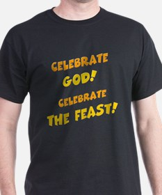Celebrate God Black T-Shirt
