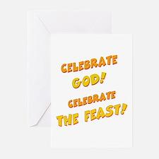 Celebrate God Greeting Cards (Pk of 10)