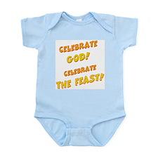 Celebrate God Infant Creeper