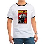 Obey the BLACK LAB! Ringer T