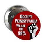 Occupy Pennsylvania campaign button