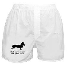 Rub my wiener Boxer Shorts