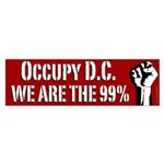 Occupy D.C. activist bumper sticker