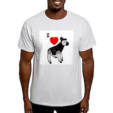 I Heart Okapi Ash Grey T-Shirt