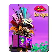 NEON Rio Las Vegas Mousepad