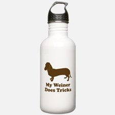 My Weiner Does Tricks Water Bottle