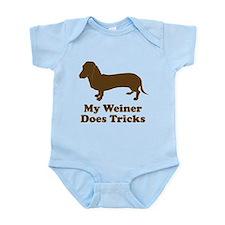 My Weiner Does Tricks Infant Bodysuit