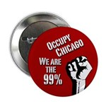 Occupy Chicago protest button