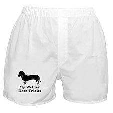My Weiner Does Tricks Boxer Shorts