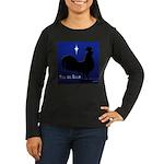 Misa Del Gallo Women's Long Sleeve Dark T-Shirt