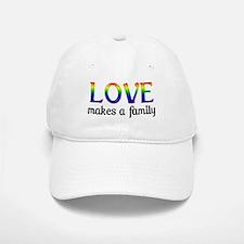 Love Makes A Family Baseball Baseball Cap