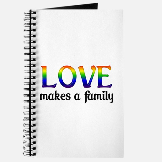 Love Makes A Family Journal