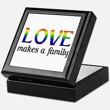 Love Makes A Family Keepsake Box