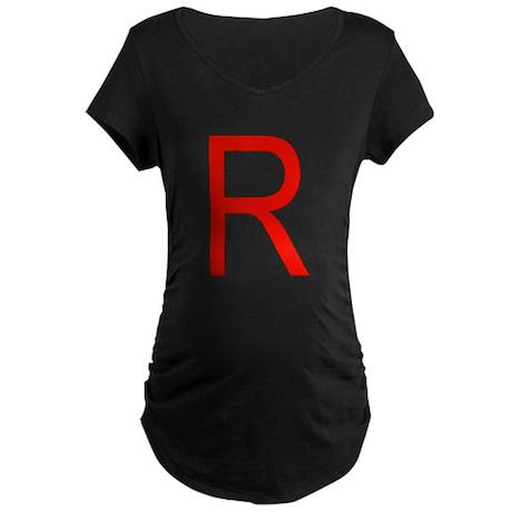 Team Rocket Maternity Dark T-Shirt