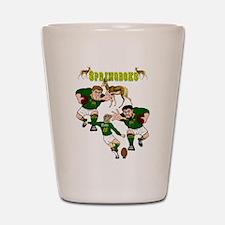 Springboks Rugby Team Shot Glass
