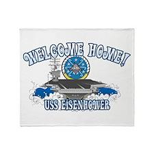 Welcome Eisenhower Throw Blanket