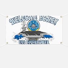 Welcome Eisenhower Banner