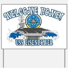 Welcome Eisenhower Yard Sign