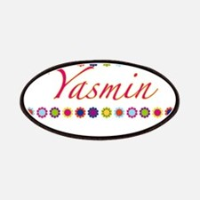 Yasmin with Flowers Patches