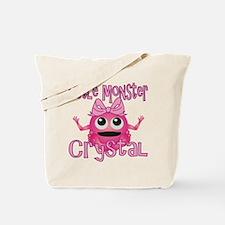Little Monster Crystal Tote Bag