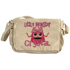 Little Monster Crystal Messenger Bag