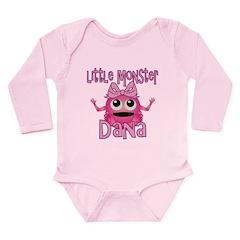 Little Monster Dana Long Sleeve Infant Bodysuit