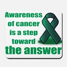 Cancer answer Mousepad