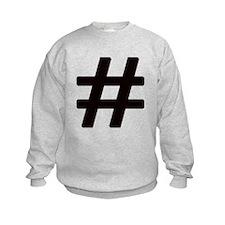 Hashtag Sweatshirt