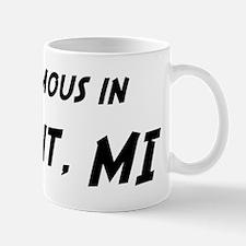 Famous in Detroit Mug