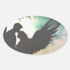 Divinity Angel Sticker (Oval)