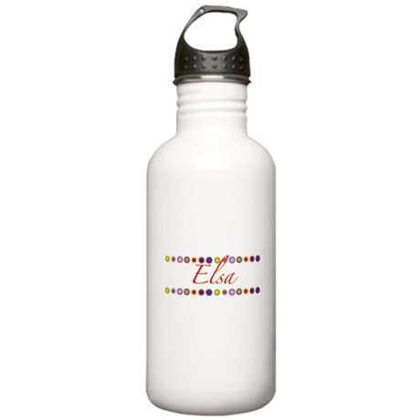 Elsa with Flowers Stainless Water Bottle 1.0L