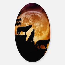 Wolves Peak Sticker (Oval)
