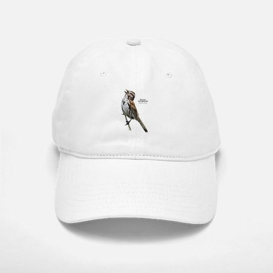 Song Sparrow Baseball Baseball Cap