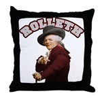 Rolleth Throw Pillow