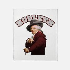 Rolleth Throw Blanket