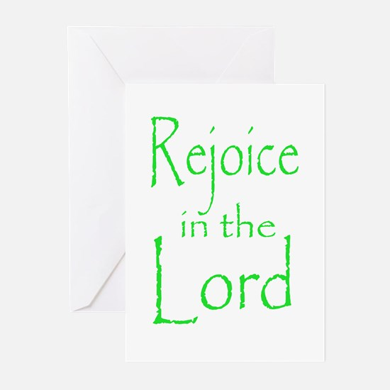 Rejoice in the Lord Greeting Cards (Pk of 10)