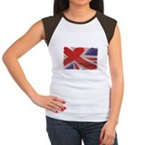 England cricket Women's Cap Sleeve T-Shirt