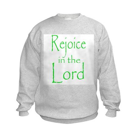 Rejoice in the Lord Kids Sweatshirt