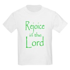 Rejoice in the Lord Kids T-Shirt